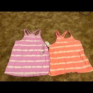 Girls size 10 tank tops
